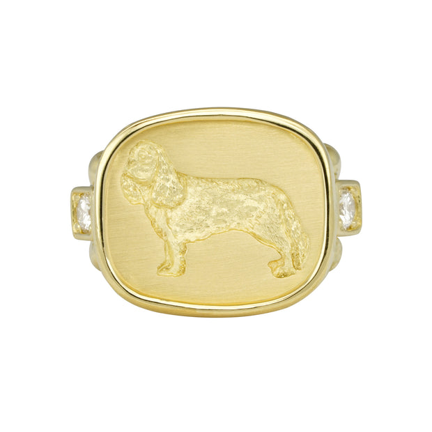 "LPL Signature Collection 18k Yellow Gold Large ""Finn"" Ring"