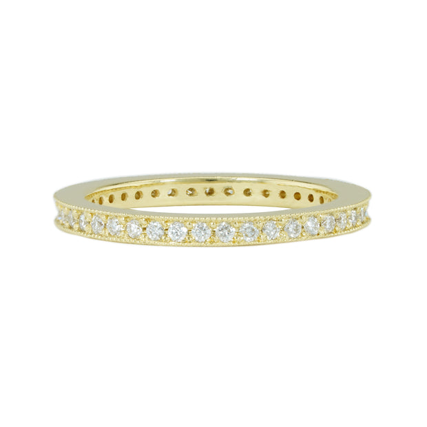 LPL Signature Collection 18 Karat Yellow Gold Diamond Band