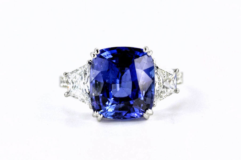 LPL Signature Collection Sapphire and Diamond Ring