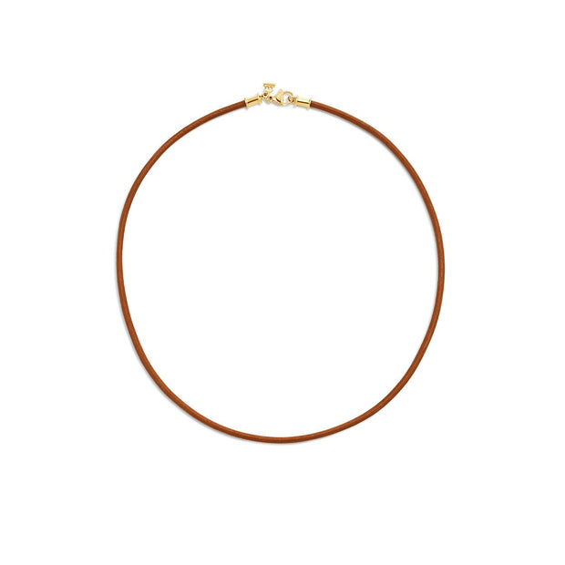 Temple St. Clair Natural Leather Cord
