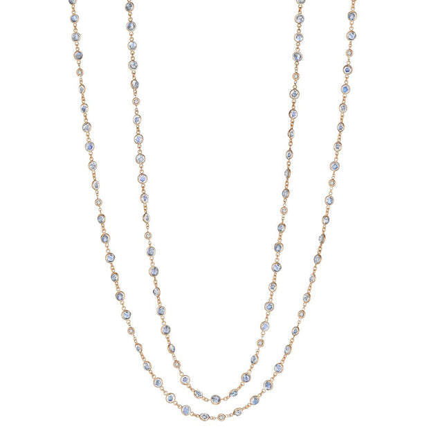 Penny Preville 18k Yellow Gold Moonstone Necklace