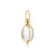 Temple St. Clair 18k Yellow Gold Classic Oval Rock Crystal Amulet