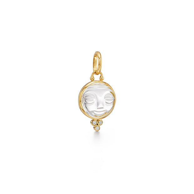 Temple St. Clair 18k Yellow Gold Diamond Moonface Enhancer