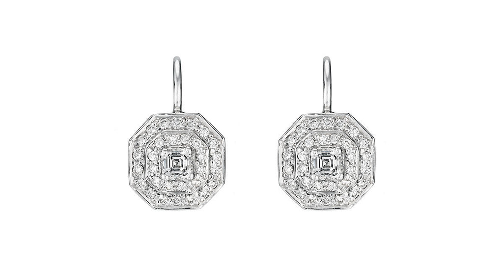 Penny Preville Double Pave Diamond Earrings