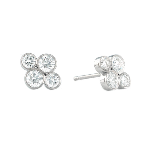 "LPL Signature Collection Platinum Diamond ""Anderson"" Studs"