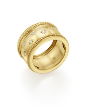 Temple St. Clair 18K Yellow Gold Large Cosmos Ring