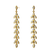 Syna 18k Yellow Gold Mogul Leaf Diamond Drops