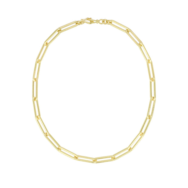 LPL Signature Collection 18k Yellow Gold Link Necklace