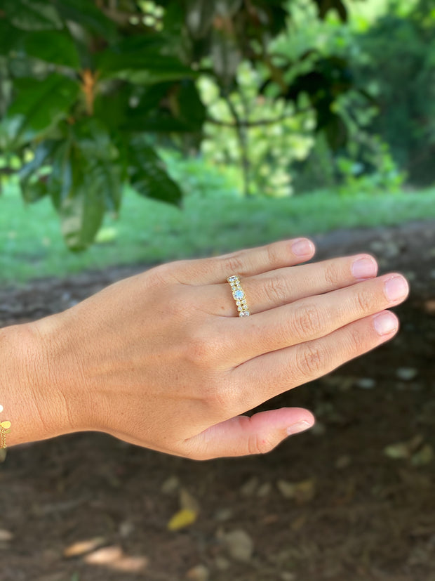 LPL Signature Collection 18kt Yellow Gold Diamond Band