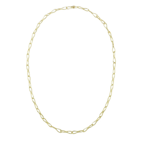 Estate 18k Yellow Gold Link Necklace