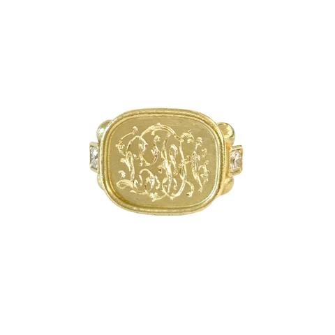 "LPL Signature Collection 18 Karat Yellow Gold ""Finn"" Ring"