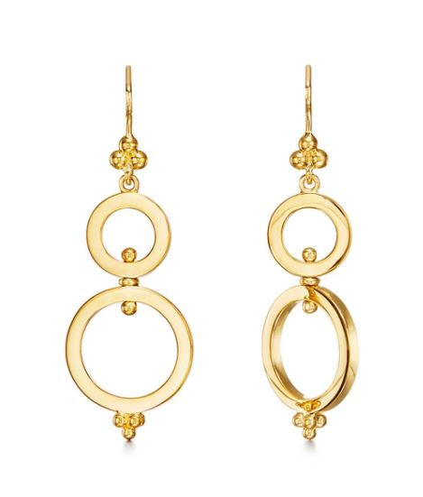Temple St. Clair 18k Yellow Gold Spin Drops
