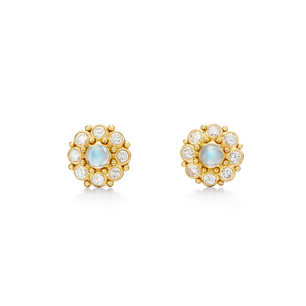 Temple St. Clair 18k Yellow Gold Stella Earrings