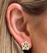 LPL Signature Collection 18k Yellow Gold Diamond Studs