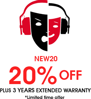 20% Off NEW20