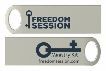 Freedom Session: COMPLETE Ministry Kit on USB