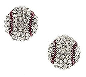 Baseball Earrings Stud