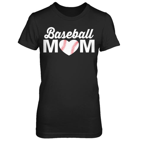 Baseball Mom Decal Tank and T