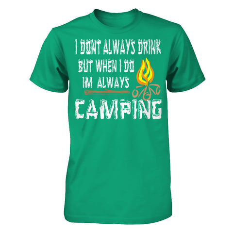 Drinking While Camping