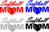 Softball Mom Car Decal Special