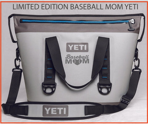 LIMITED EDITION Baseball MOM Custom YETI HOPPER TWO 30 FREE SHIPPING