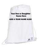 "Large Baseball Softball Hockey Soccer Player Uniform Bag Sizes 14"" X 18"""