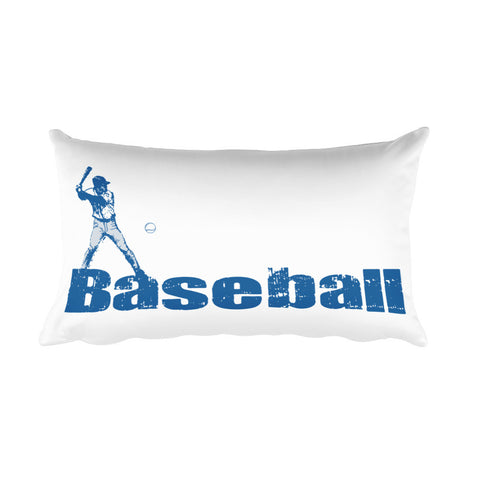 Baseball Mom Rectangular Pillow for Son's Room