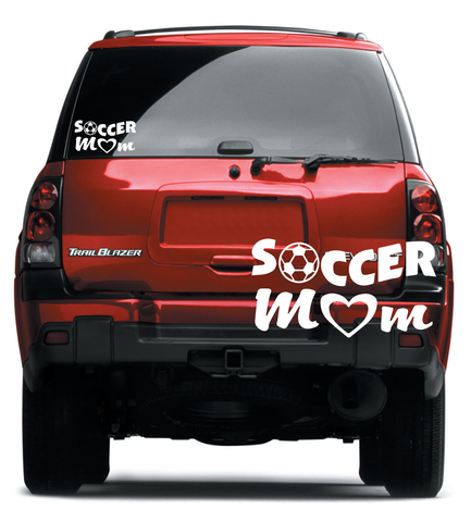 Soccer Mom Car Decal