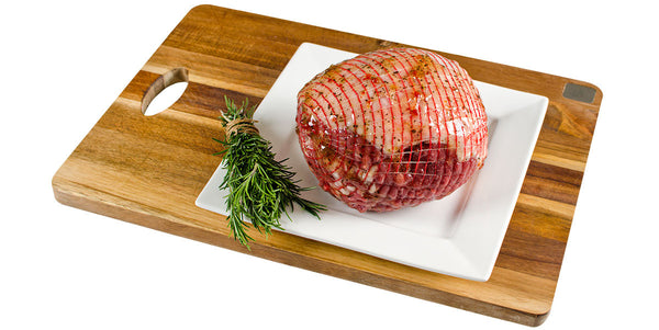 Honey Mint Rosemary Lamb Roast