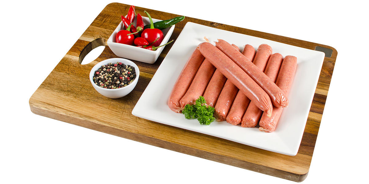 Sweet Chilli and Red Pepper Sausage