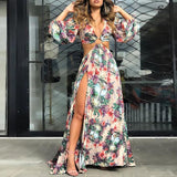 Women Sexy Floral Dress - Royal Couture Inc