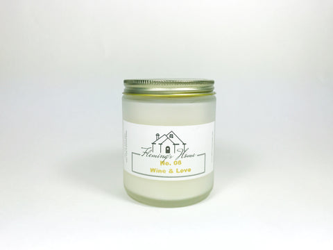 No.06 WINE & LOVE - SOY CANDLE