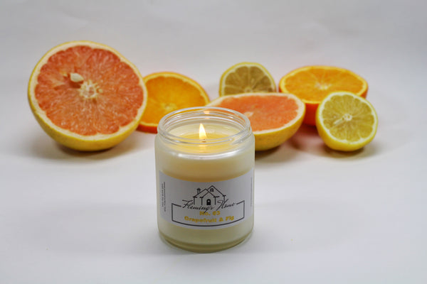 No.03 GRAPEFRUIT & FIG - SOY CANDLE