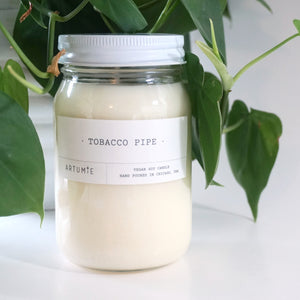 Tobacco Pipe 16 oz Soy Candle