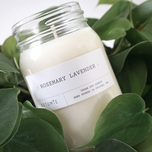 Rosemary Lavender 16 oz Soy Candle