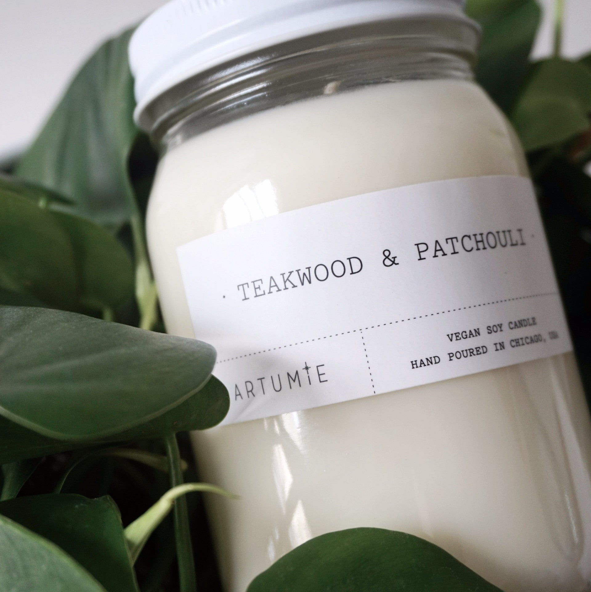 Teakwood & Patchouli 16 oz Soy Candle