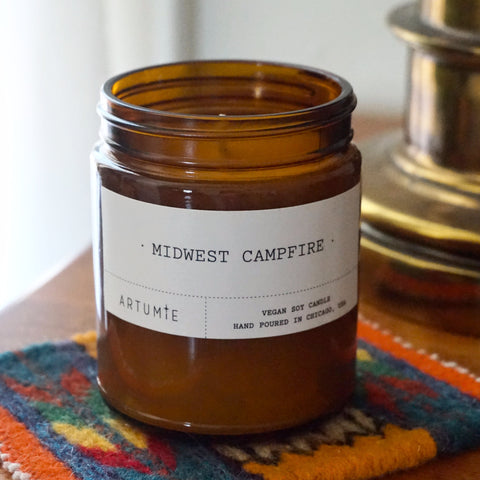 Midwest Campfire 9 oz Soy Candle