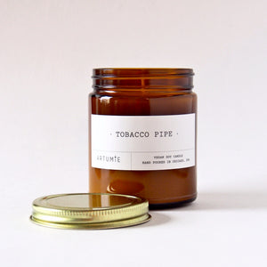 Tobacco Pipe 9 oz Soy Candle