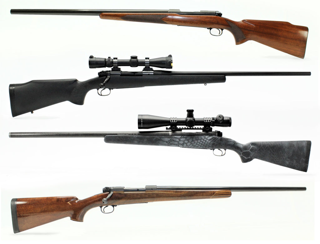 Building a Custom Rifle on the Pre-64 Winchester Model 70
