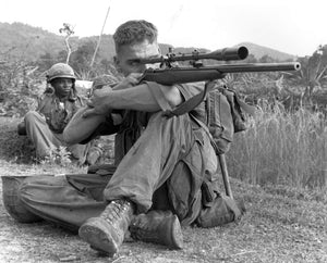 The Legendary US Marine Corps Model 70 Sniper Rifle