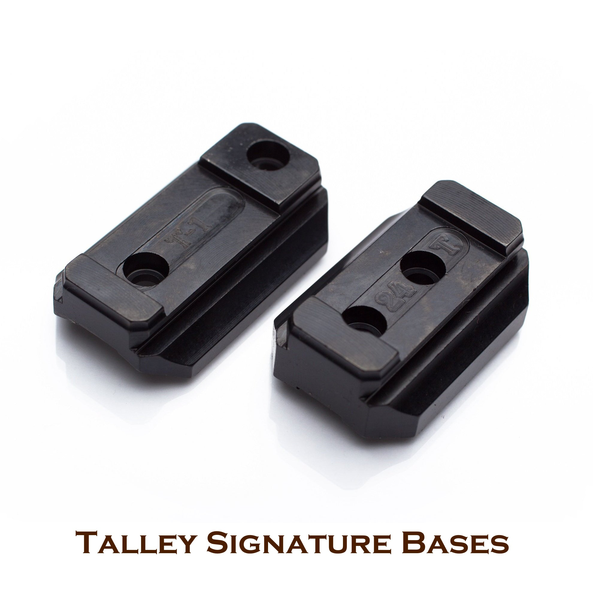 Talley Steel Scope Mount Bases