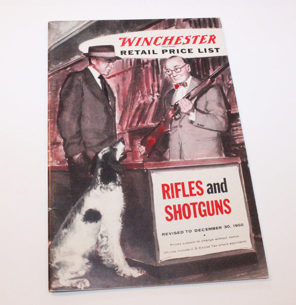 1956 Winchester Retail Price List - No. 2137