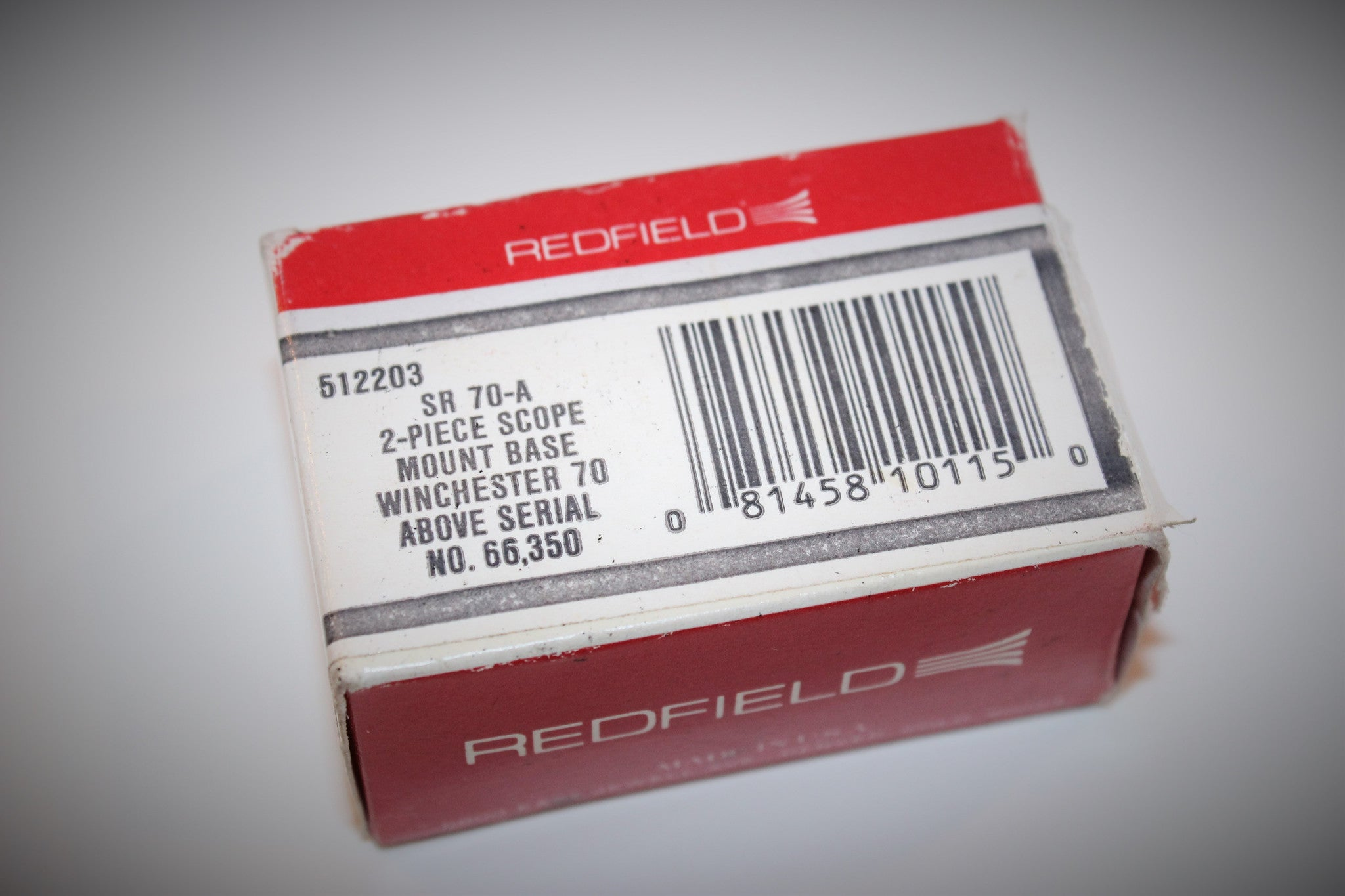 Redfield SR 70-A 2-Piece Scope Mount Base Set