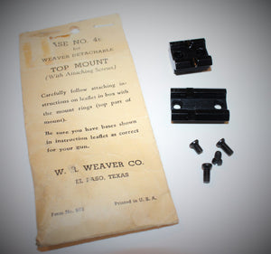 Weaver Base Set for Detachable Top Mount Rings