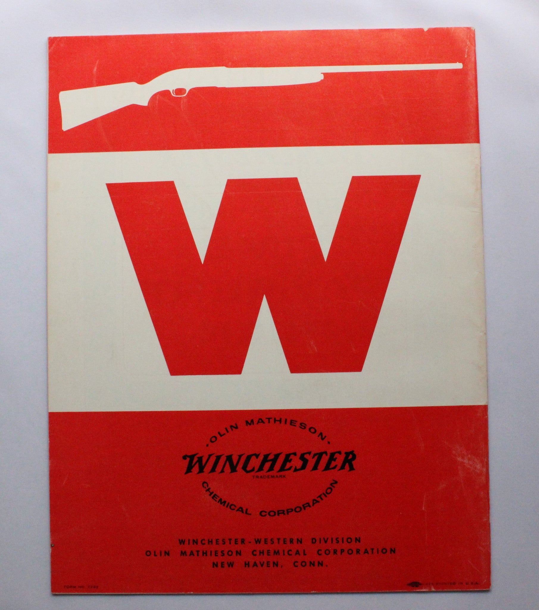1958 Winchester Wholesale-Retail Price List - No. 2292