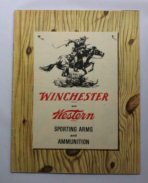 1960 Winchester & Western Sporting Arms & Ammunition Catalog - No. 2359