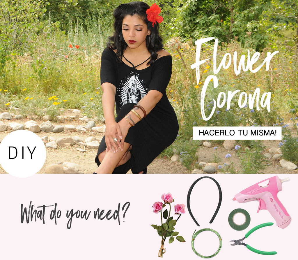 Latina DIY Flower Crown