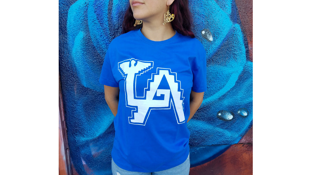 AztLAn Blues Tee