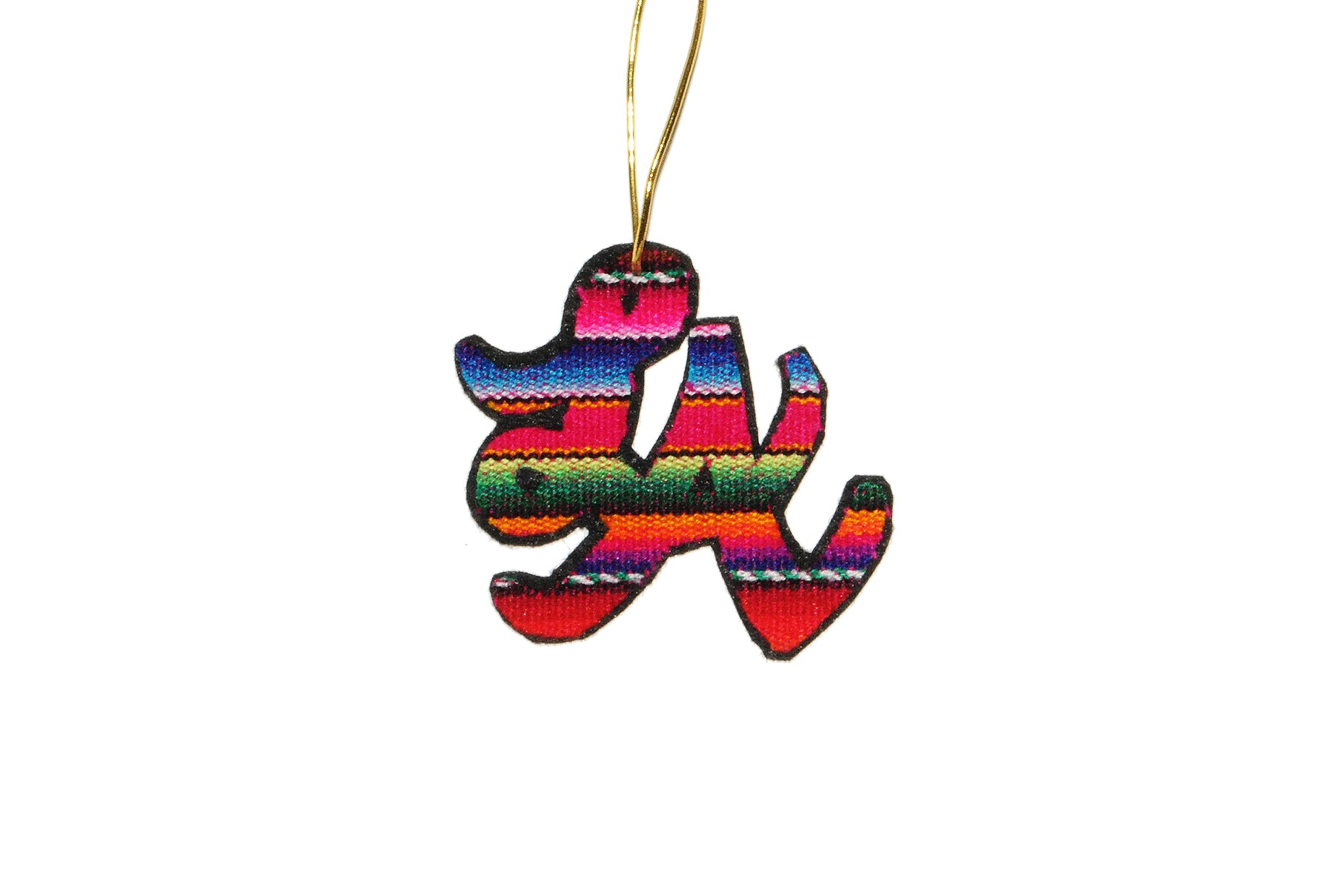LA Zarape Ornament