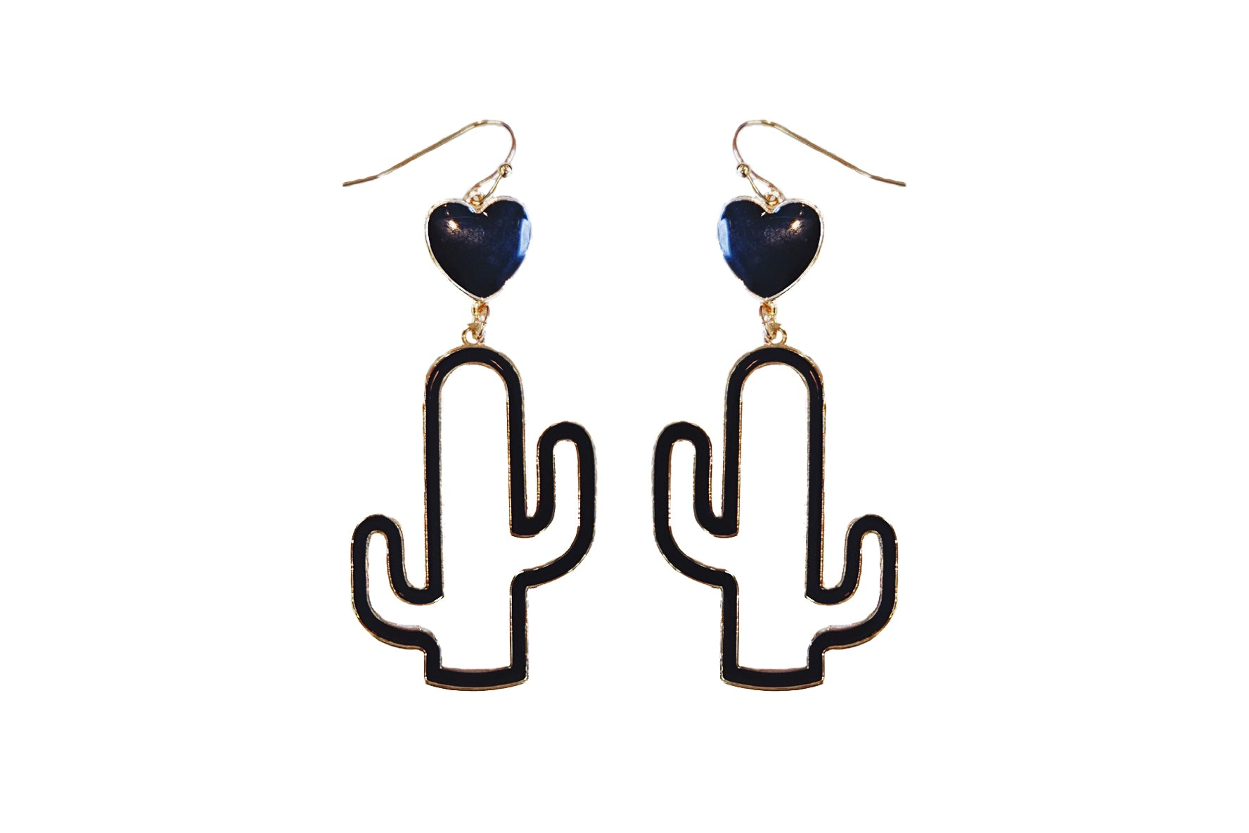 Nopalito Love Dangle Earrings